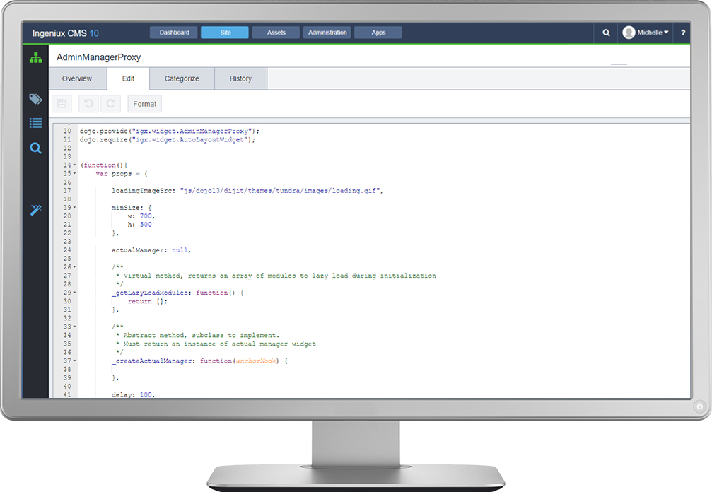 Ingeniux has a full content API available in REST and native .NET that provides content natively as XML or JSON.  The API can return raw content based on requests and parameters, including content item, by audience or topic, or by language or locale.