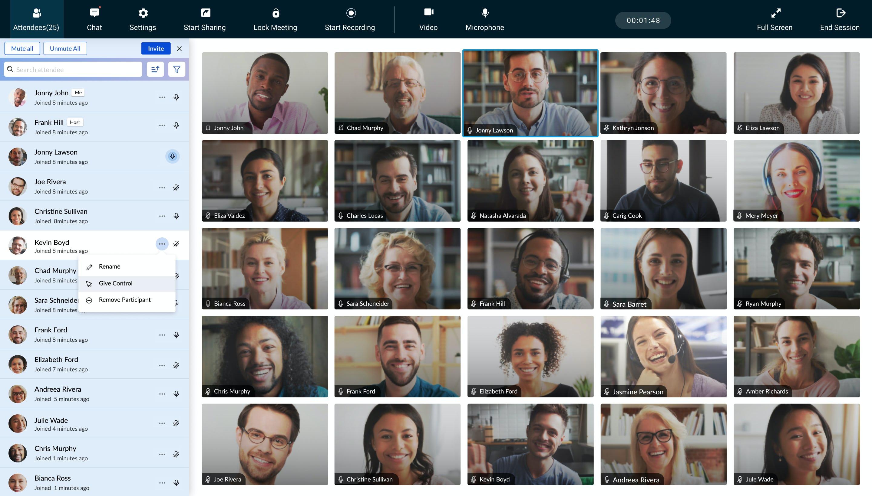 Zoho Meeting Software - 1