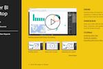 Microsoft Power BI Screenshot: Power BI Desktop Welcome screen
