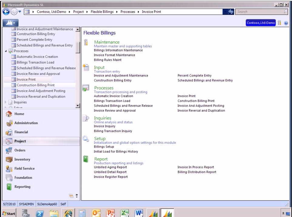 Microsoft Dynamics SL Software - 1