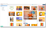 MavSocial screenshot: Store, organize and leverage visual content in a centralized location.
