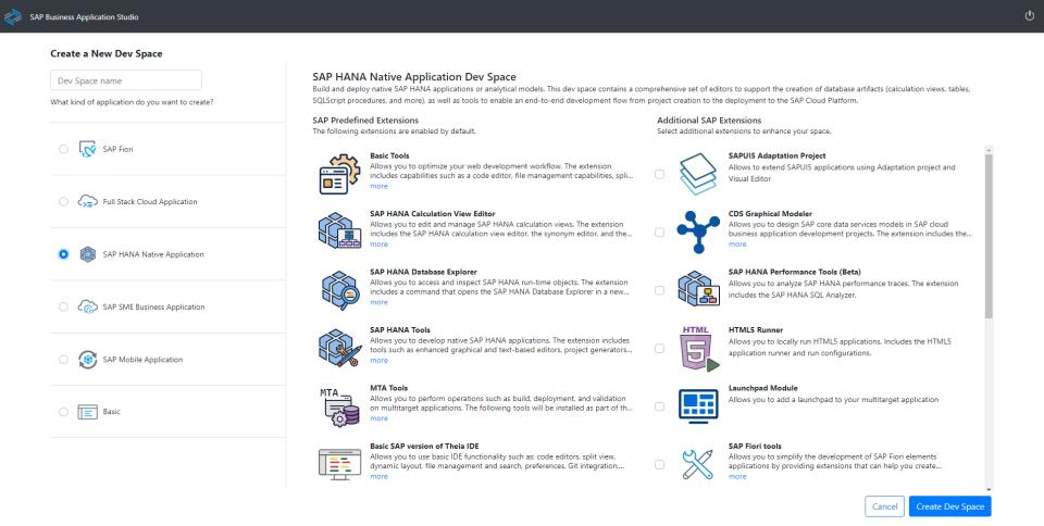 SAP HANA Cloud Software - 3
