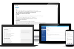 ITRAK 365 screenshot: The solution is accessible across multiple device types thanks to a mobile first design