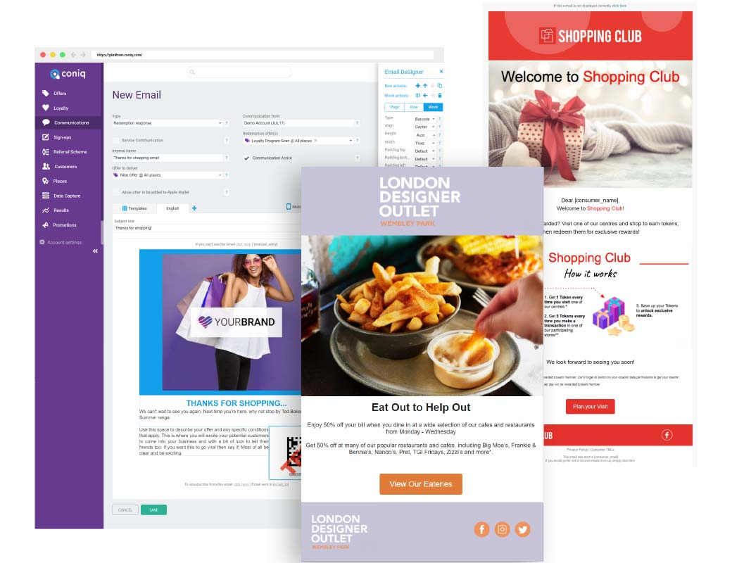 IQ Reach - The only CRM engagement tool built exclusively for retail destinations