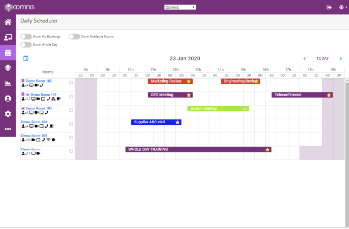 FlexO Scheduler