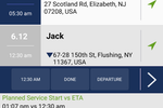 WorkWave Route Manager screenshot: The WorkWave mobile app