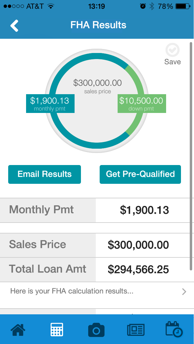 SimpleNexus Software - FHA Results