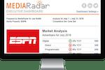 MediaRadar screenshot: Receive customized market analysis reports from the MediaRadar team