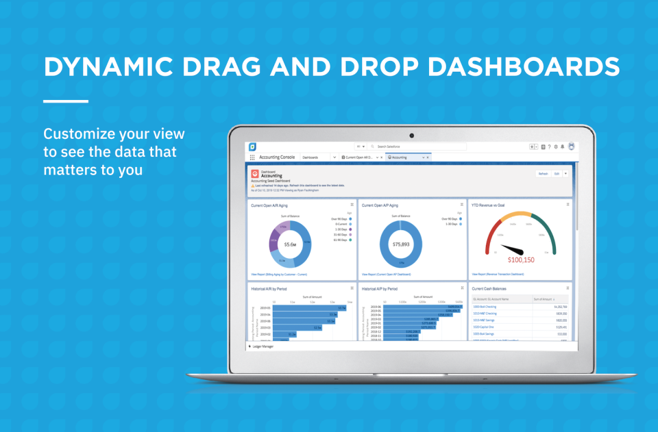 Accounting Seed Software - Dynamic Dashboards