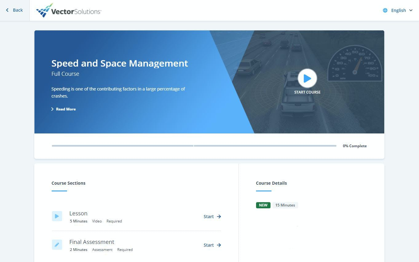 Convergence LMS Software - Where it all begins: the course start page. We offer over 3,000 eLearning courses, mobile applications, knowledge assessments, credential management, professional evaluation, asset management, and SDS management.