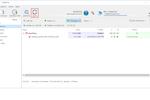 Captura de pantalla de GoodSync: OneDrive sync