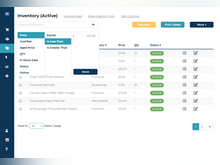 Ricochet Software - Filter and search your store's inventory with custom fields.