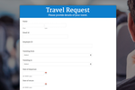 Captura de pantalla de Zoho Forms: live-form-web