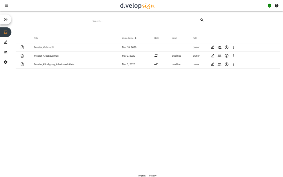 d.velop sign Software - 1