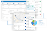 ClearDestination screenshot: ClearDestination is a cloud-based delivery management solution that enables retailers, carriers and manufacturers to manage and visualize multi-modal networks across a suite of integrated modules