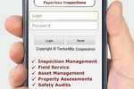 Pervidi Inspection screenshot: Access Pervidi while on the go using the native mobile apps for Android and iOS