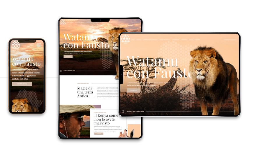 Flazio customizable website