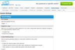 Answerbase Screenshot: Easy configuration
