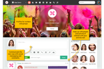 Enterprise Collaboration Suite screenshot: Corporate social network