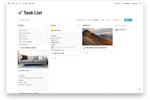 Notion screenshot: Notion personal tasks