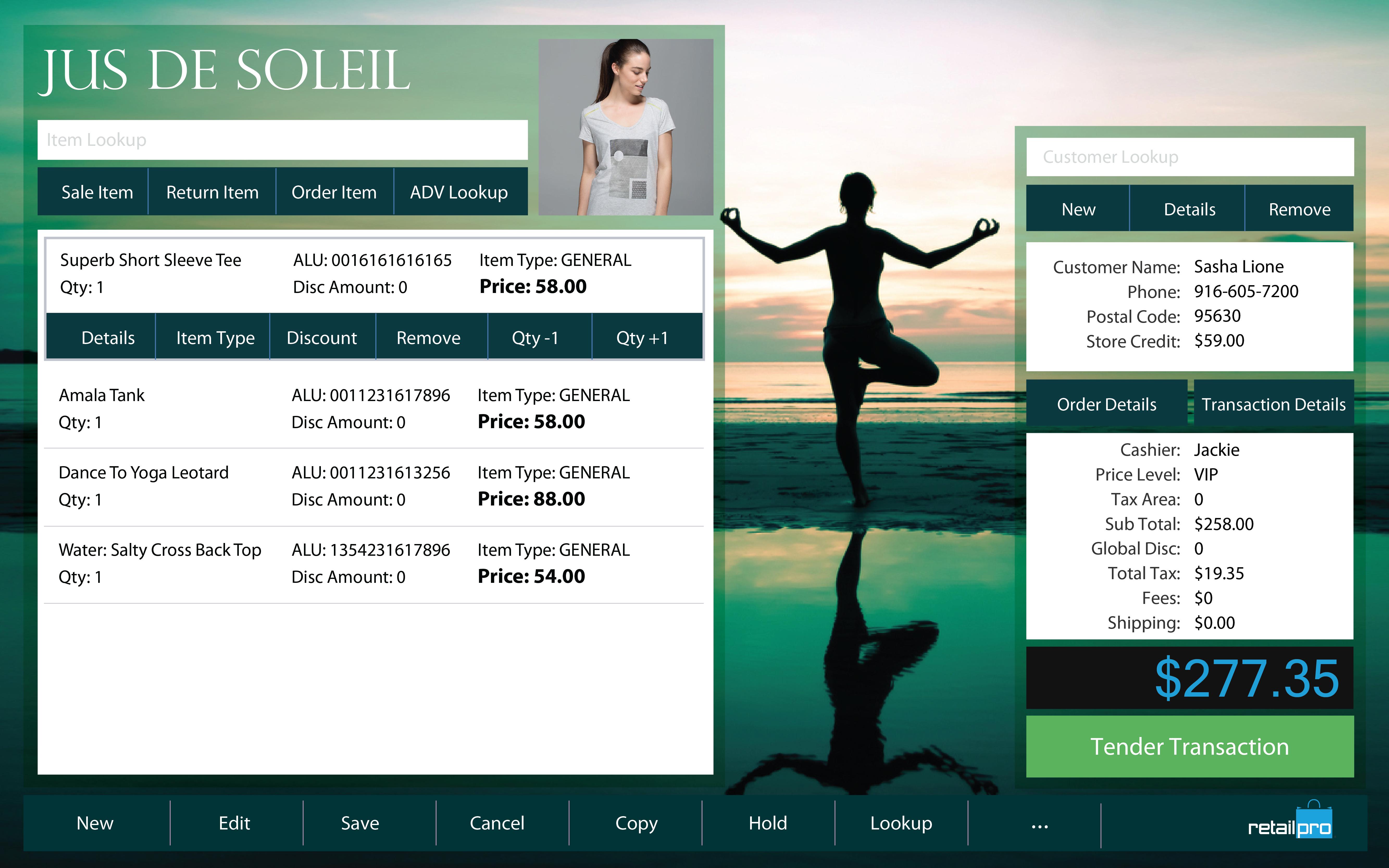 Website and POS branding capabilities