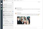 Captura de pantalla de Flock: Share important news and updates with the team