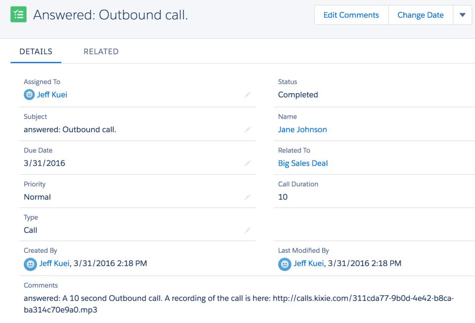 Kixie PowerCall Software - Kixie outbound call