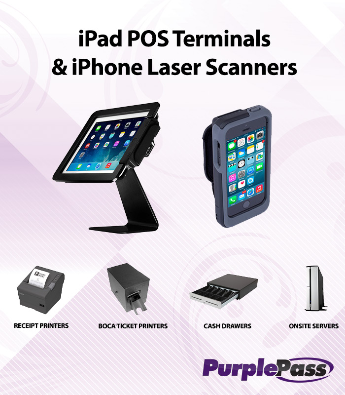Onsite equipment for scanning, selling, and printing