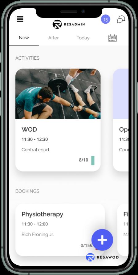 Resawod admin mobile app