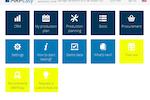 Captura de tela do MRPEasy: The MRPEasy initial home screen