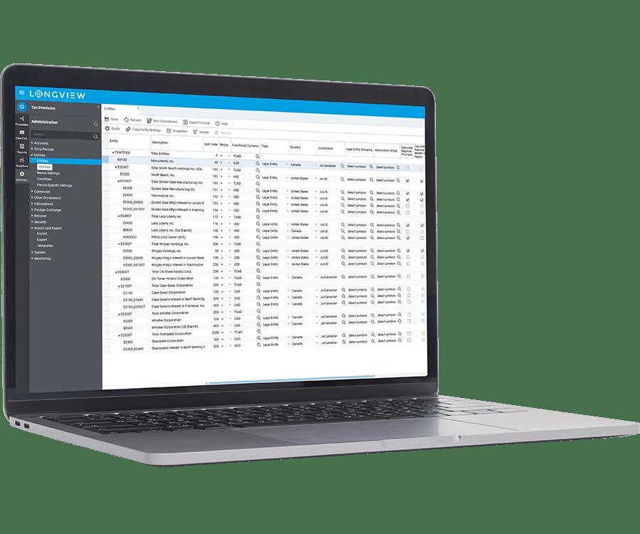Longview Tax Software - 3