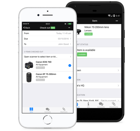 Access and manage your entire inventory via mobile phone. We have an app for both iOS and Android devices.