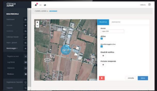 Chimpa geo-location tracking