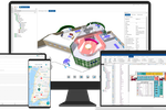Spacewell screenshot: IWMS & BIM integration