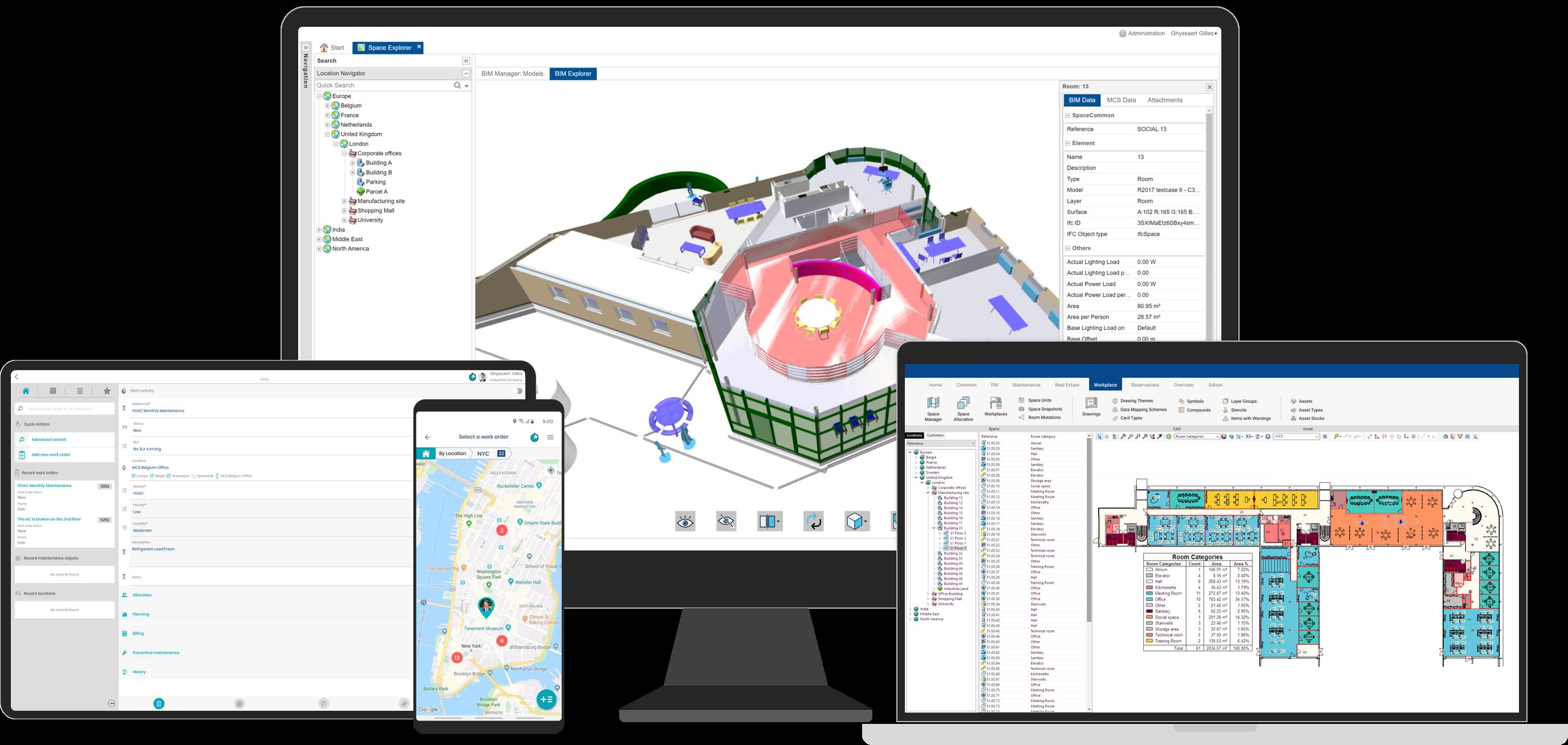 Spacewell Software - IWMS & BIM integration