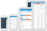 Capture d'écran pour DealerCenter : The DealerCenter mobile app for iOS and Android incorporates inventory management and CRM integration, auction tool and the remote updates of deal results