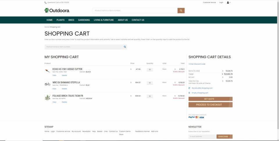 Sana Commerce Software - 3