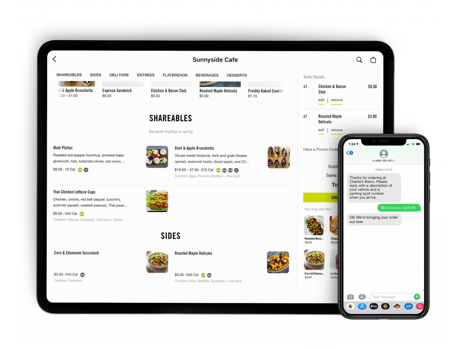 CAKE Online Ordering