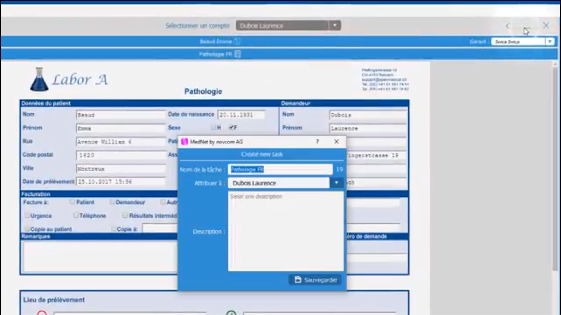 iMednet patient samples