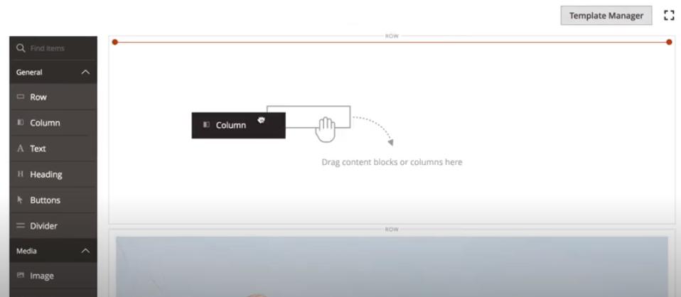 Magento Commerce drag-and-drop website builder
