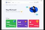 Innform screenshot: Your learner's home screen