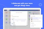 Ninox screenshot: Team members can access Ninox across all platforms based on different roles.