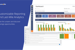 Route4Me screenshot: Customizable Reporting and Last-Mile Analytics. See the unseen and discover savings opportunities