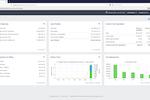 Captura de tela do Sage 300cloud: Sage 300cloud dashboard