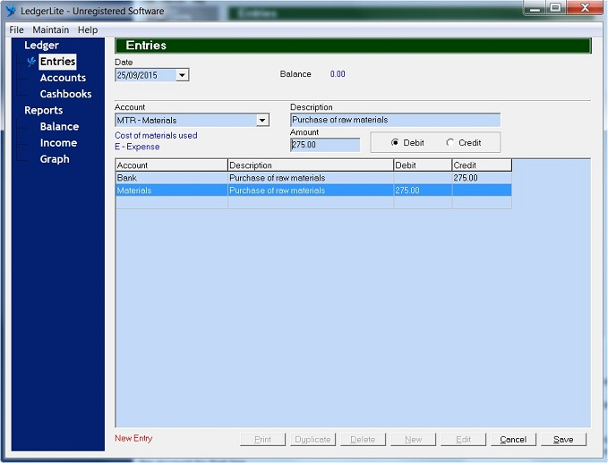 LedgerLite Software - 1