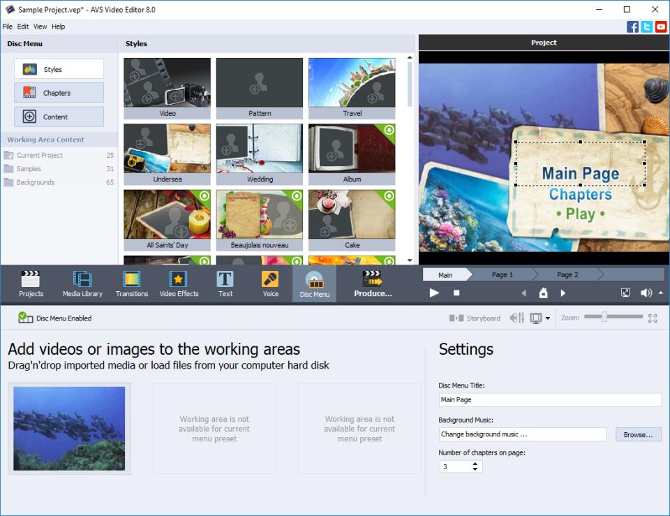 AVS Video Editor Software - 4