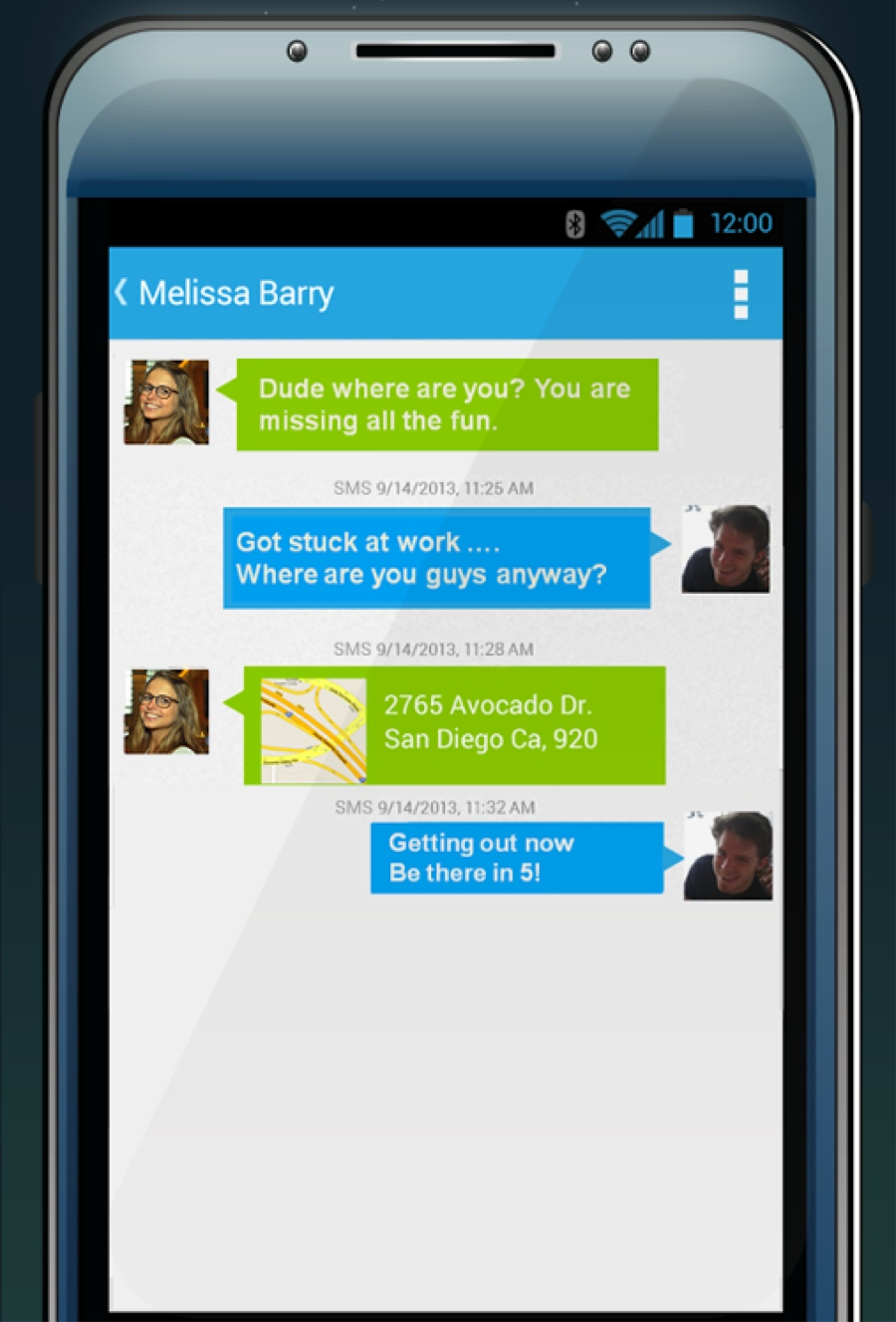 Cloud Phone Software - SMS text