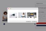 Product Finder 360 screenshot: Product Finder 360 data storage apperance