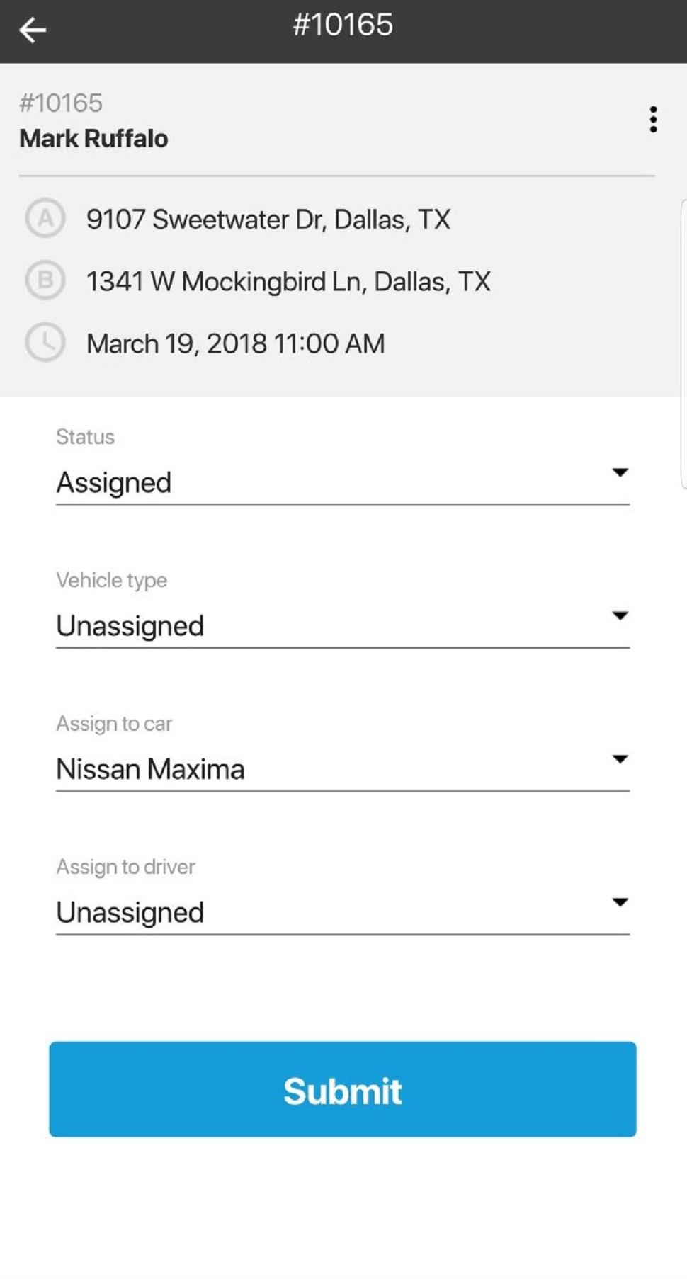 Mobile driver information