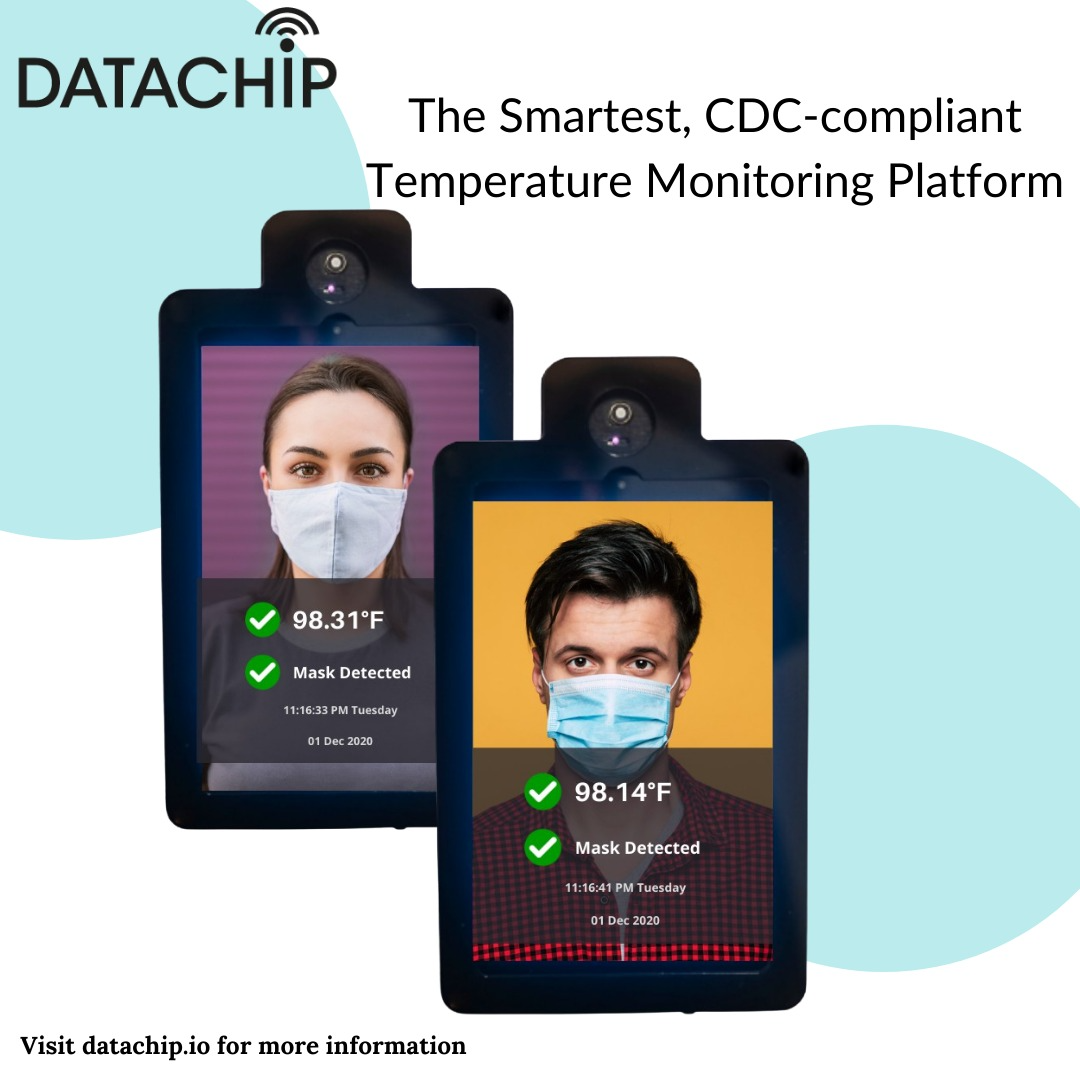 uScann is an Artificial Intelligence (AI) driven technology to accurately identify the visitor/employee temperatures and provide relevant notification on the device screen
